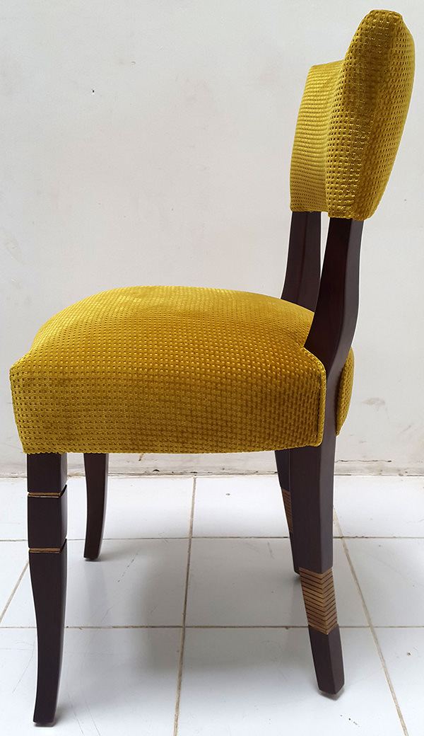 coya restaurant dining chair