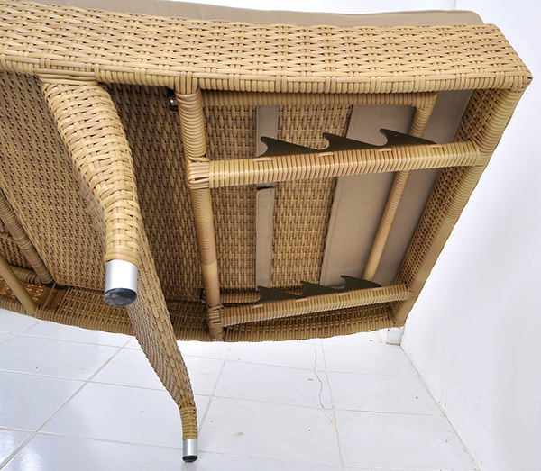 synthetic rattan construction