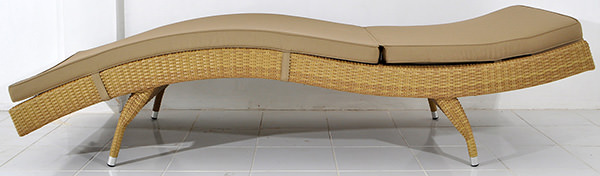 wave design lounge seat