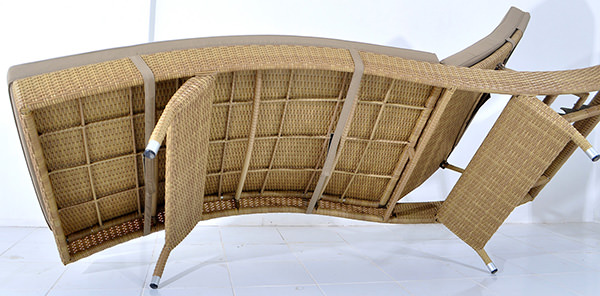 synthetic rattan frame