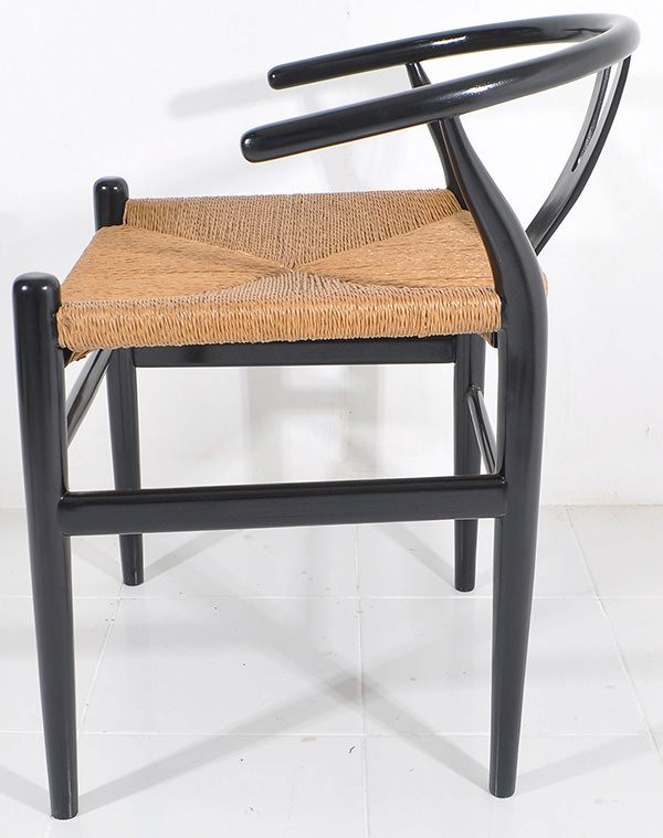 mid 20th century timber and rattan seating