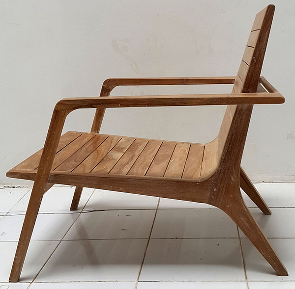 Scandinavian outdoor chair
