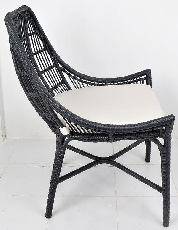 Classic nordic design garden chair