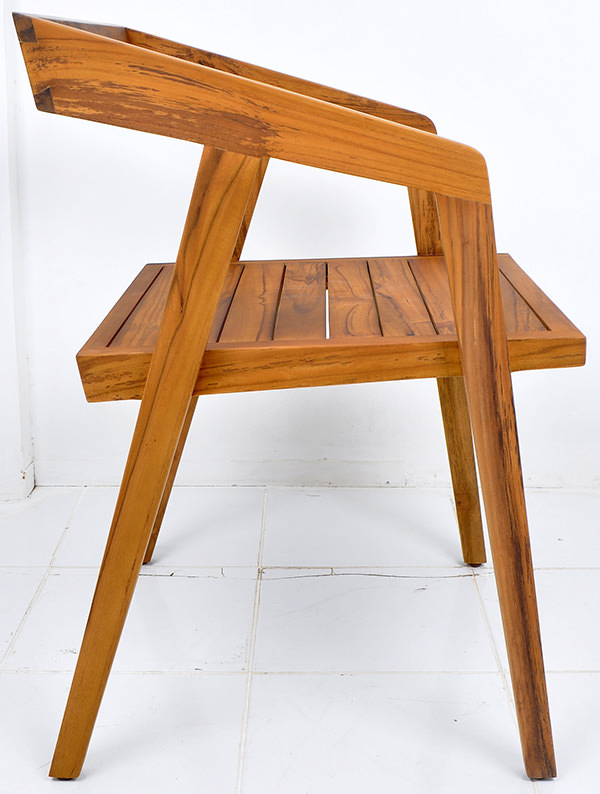 danish square chair