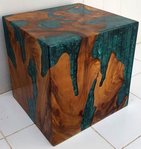 cube stool