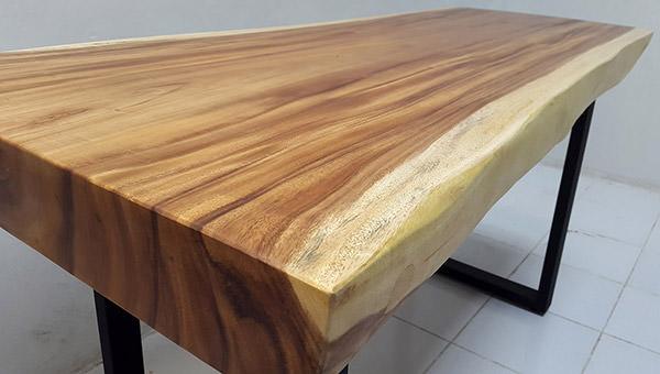 natural solid rain tree wood