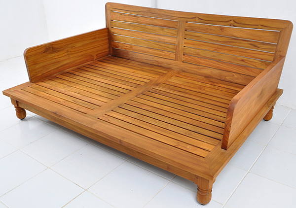 teak daybed couch