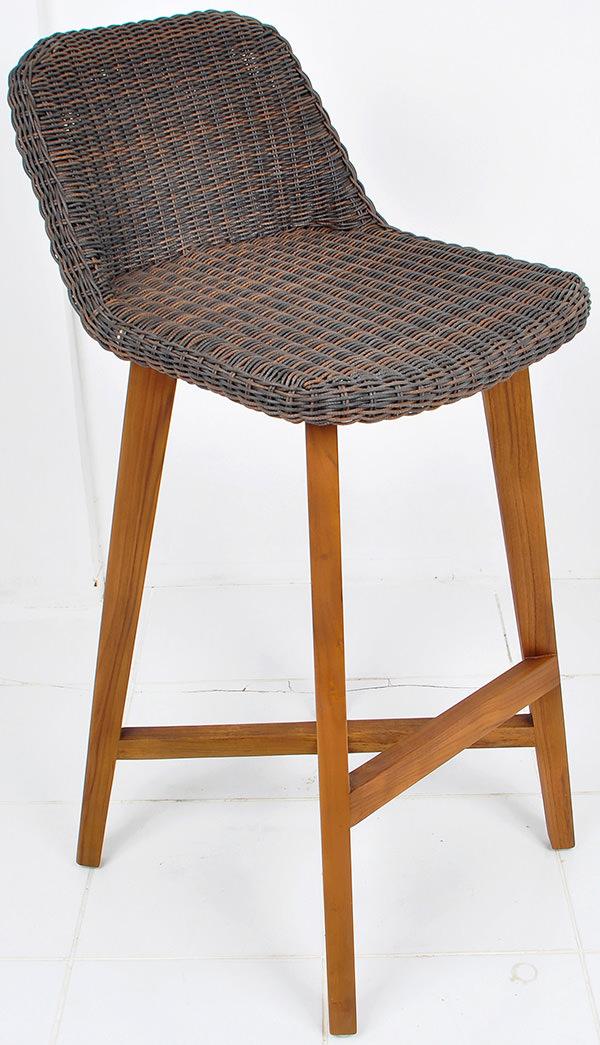 Danish bar stool