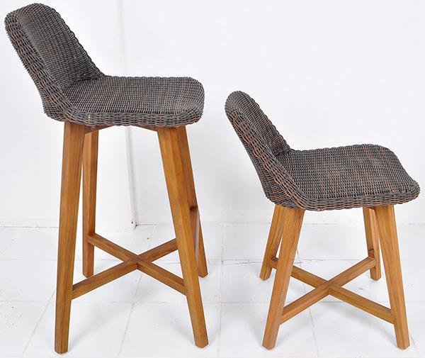 Scandinavian outdoor furniture set