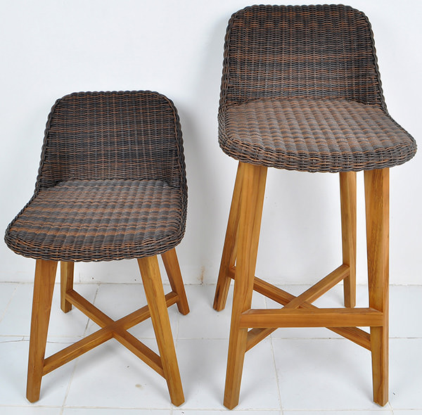 Scandinavian outdoor furniture seating set