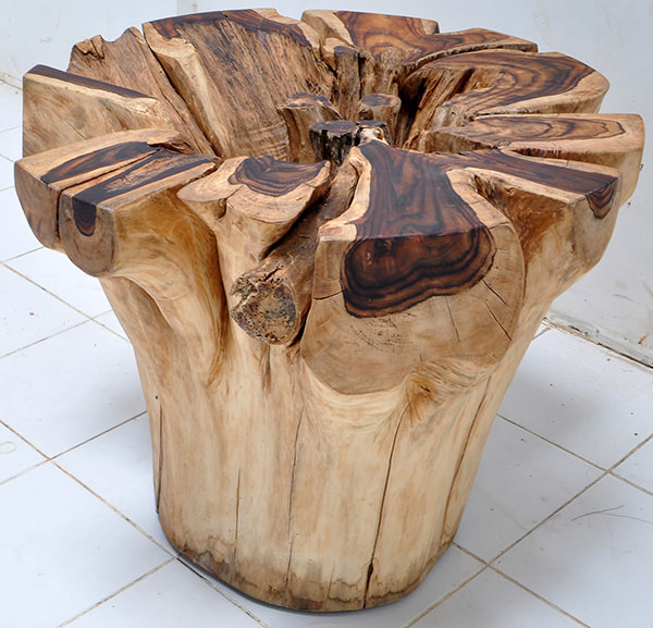 root table without lamination