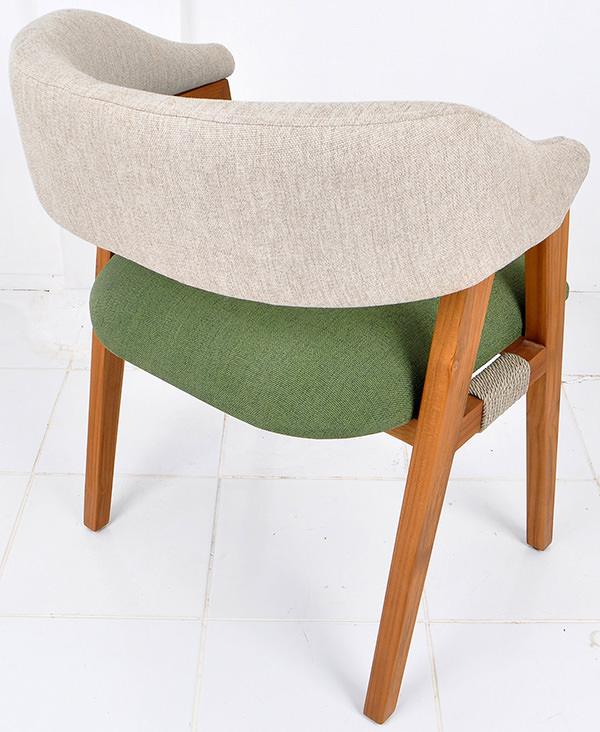 teak Scandinavian arm chair