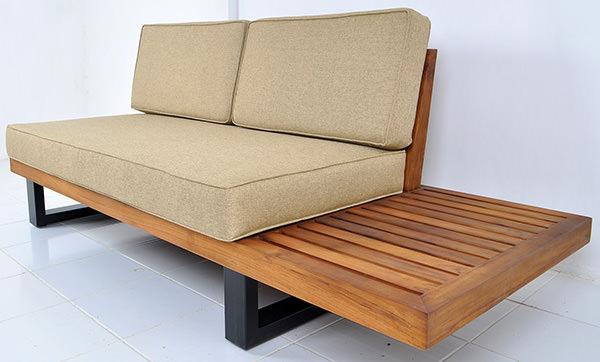 Scandinavian outdoor sofa