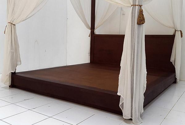 teak bed set