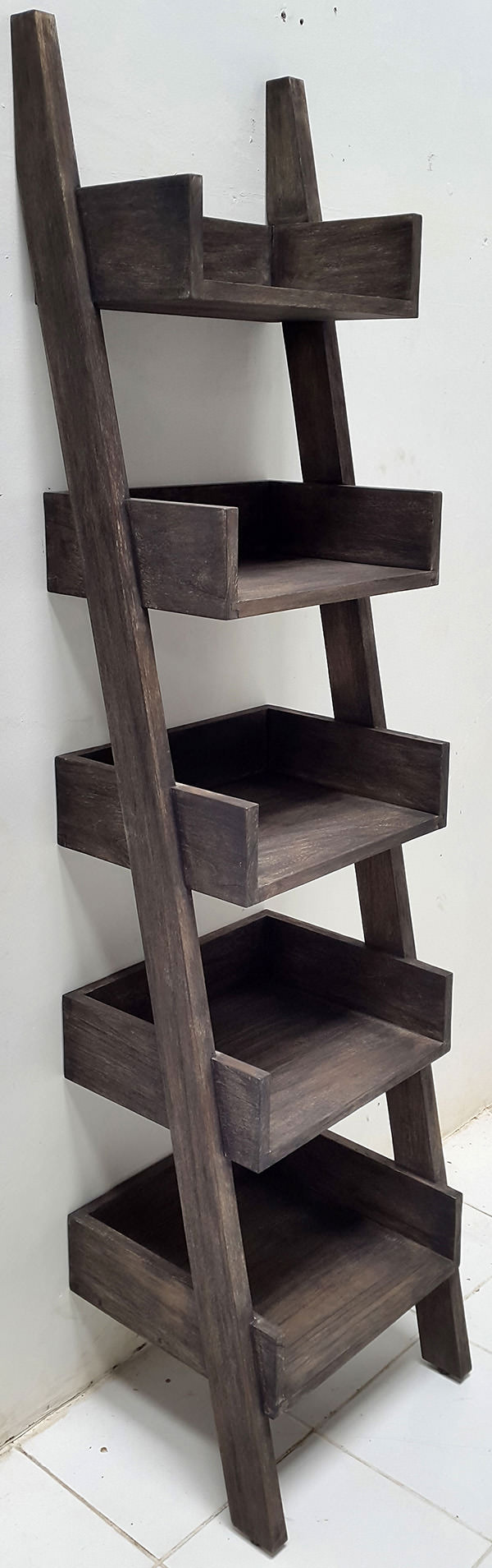 sugi ban teak wall ladder