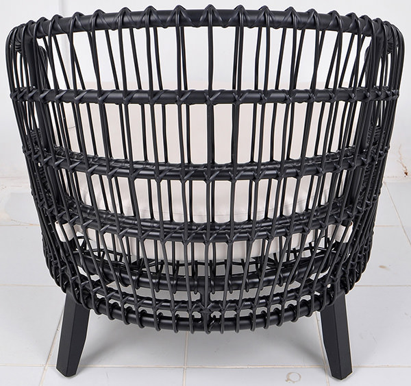 Classic Danish garden weather chair design