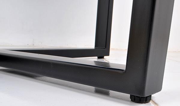 black iron table legs
