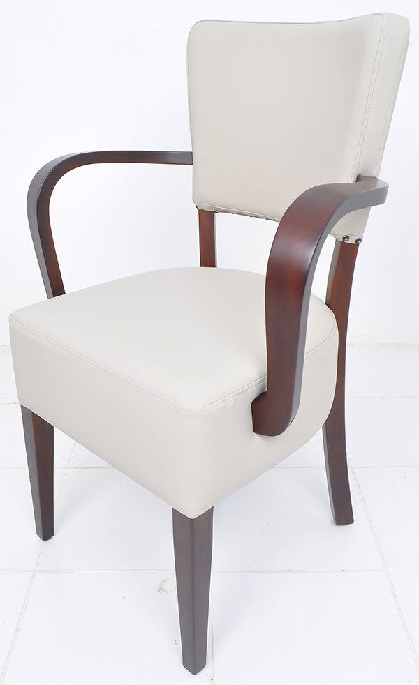 french bistro arm seat