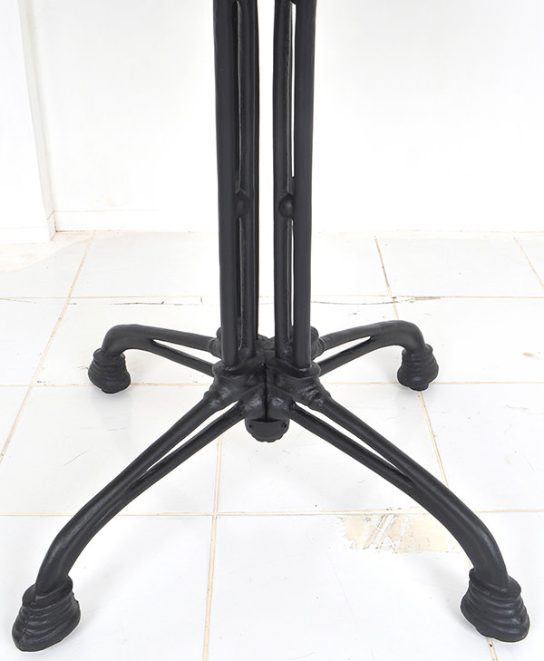 french bistro table leg