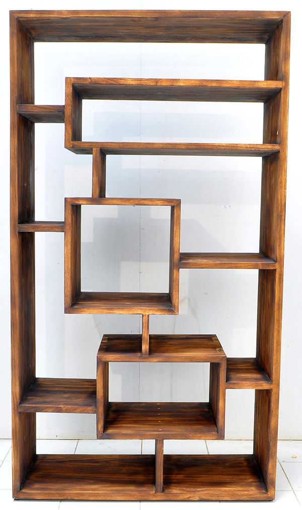 hong kong teak book rack