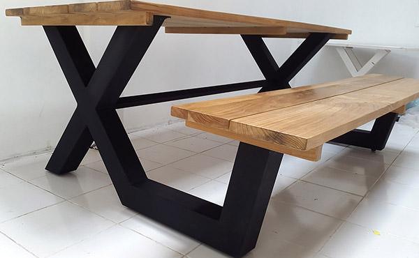 Custom-made furniture for a condominium in Singapore