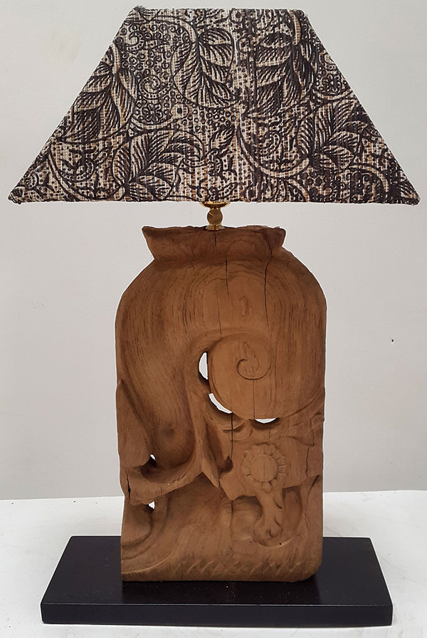 Indonesian ethnic traditional night lamp manufacturer