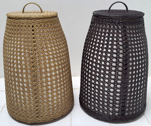 synthetic rattan lamps