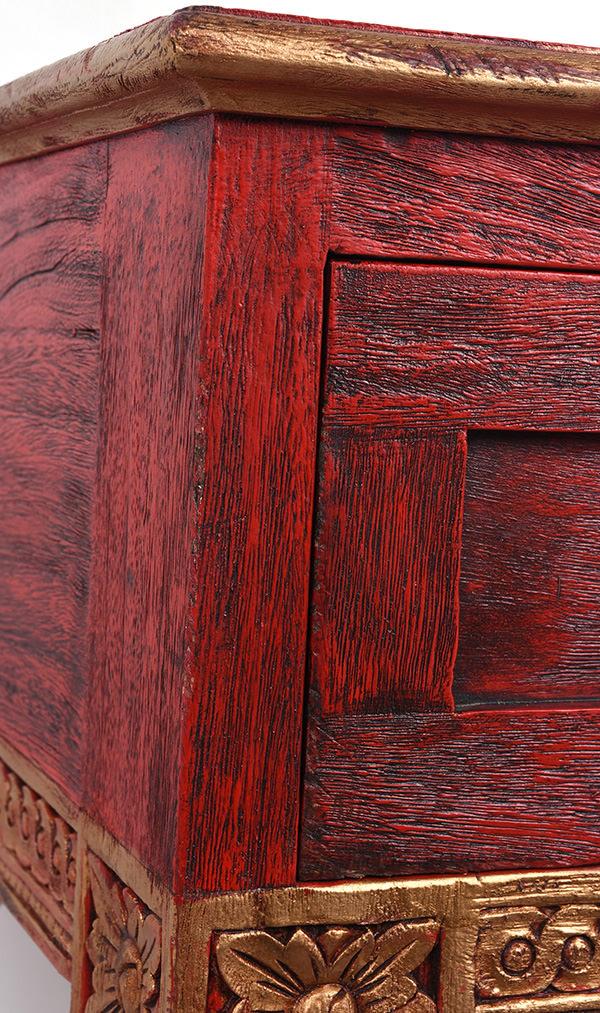 Distressed Restaurant Furniture, Red Distressed Furniture