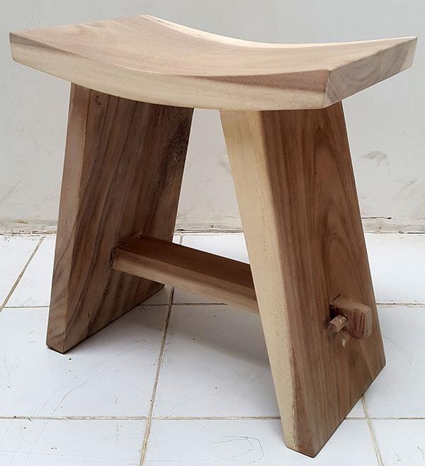 traditional asian suar stool