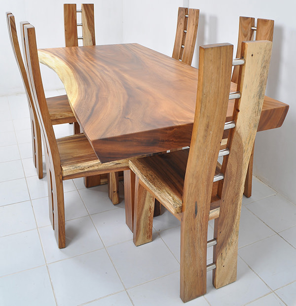 trembesi dining set