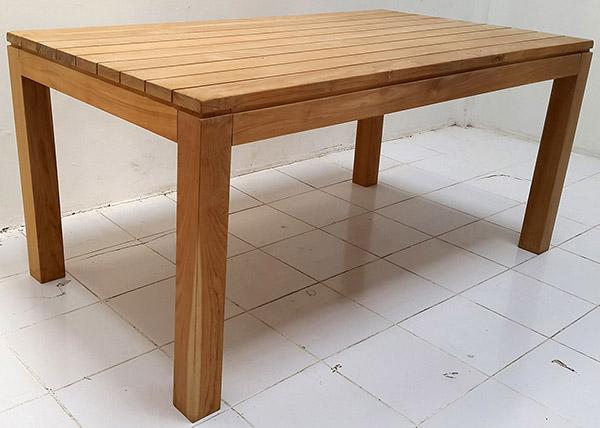 garden teak wood table