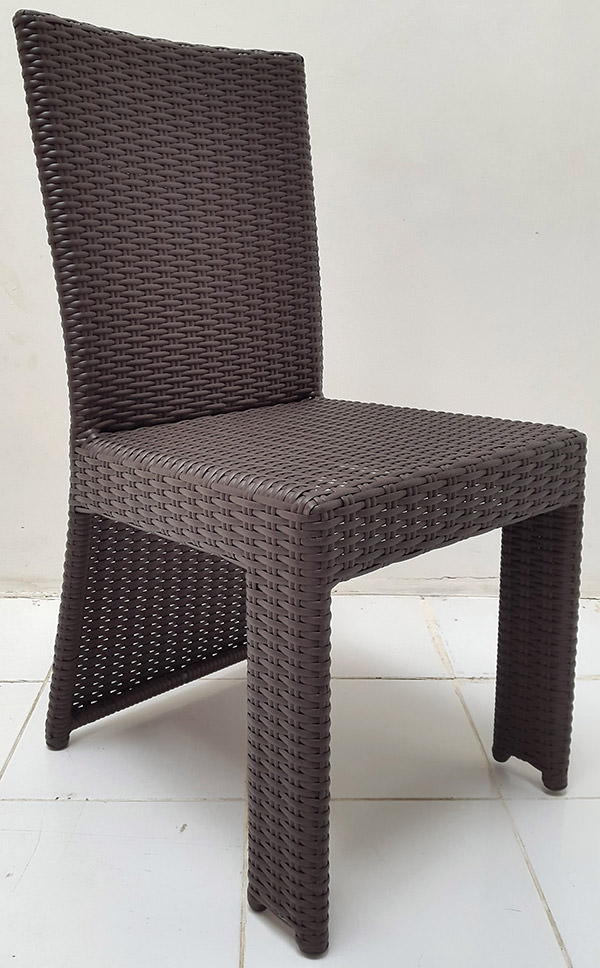 viro synthetic rattan chair