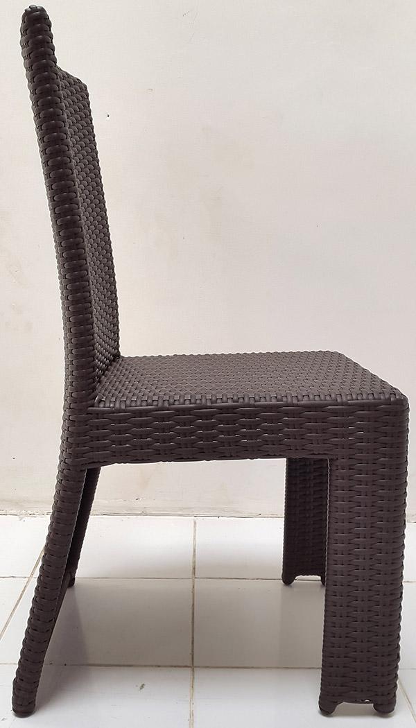 viro german synthetic rattan chair