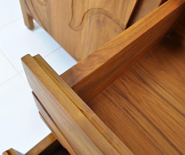 teak drawer