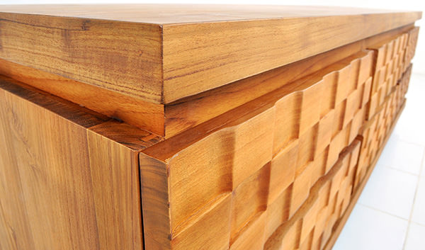 wooden timber cabinet