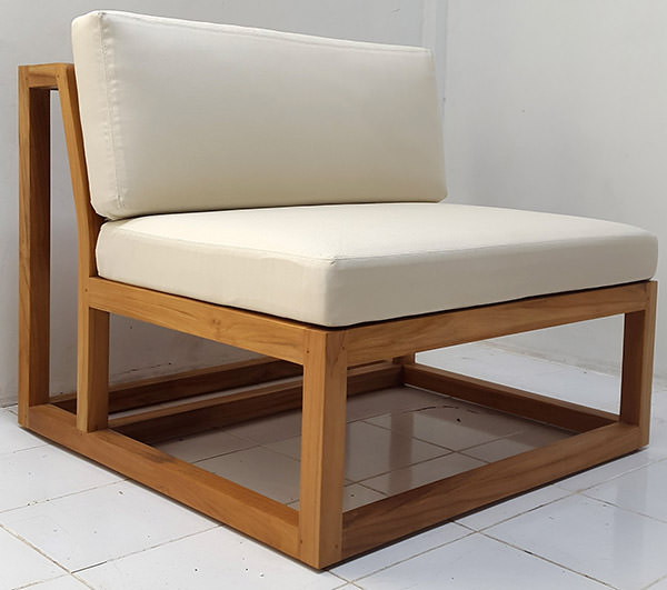 teak wooden chair