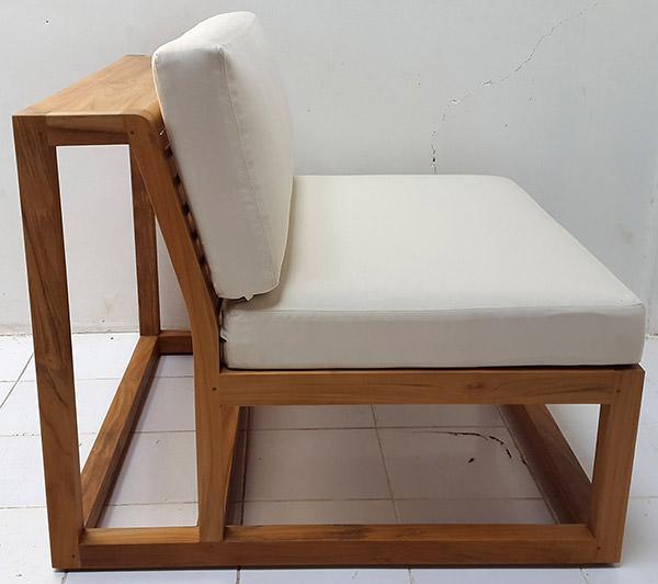 scandinavian teak wooden chair
