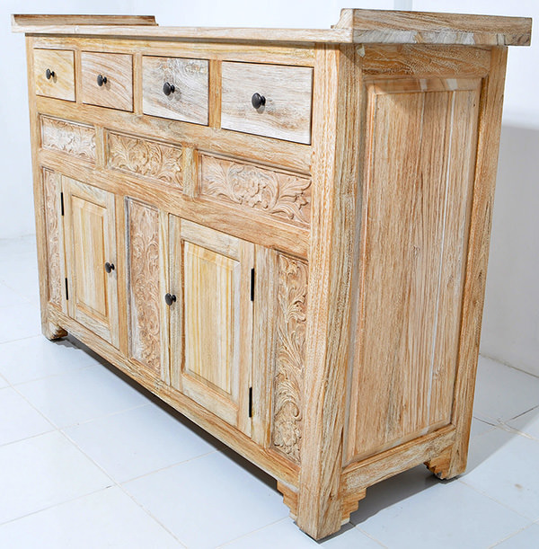 handicraft wooden cabinet