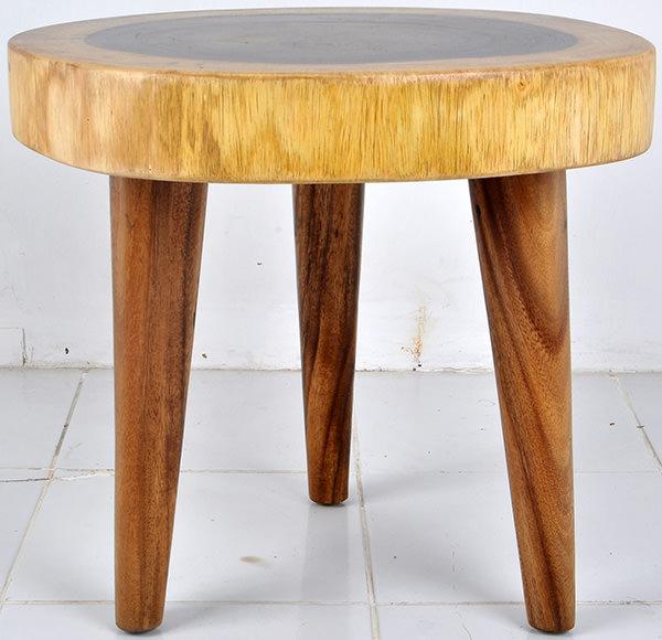Monkeypod side table