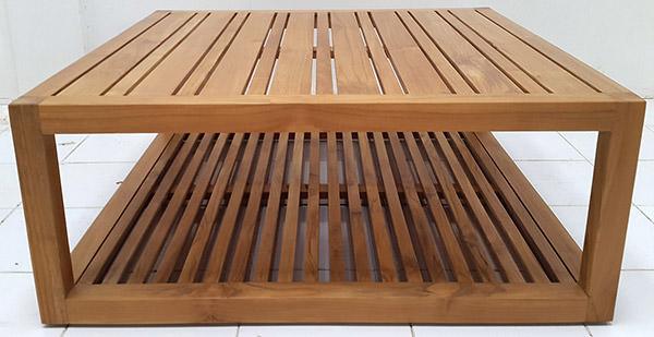 garden teak coffee table