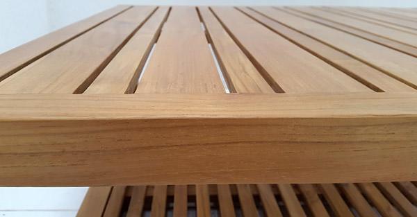 garden outdoor teak coffee table