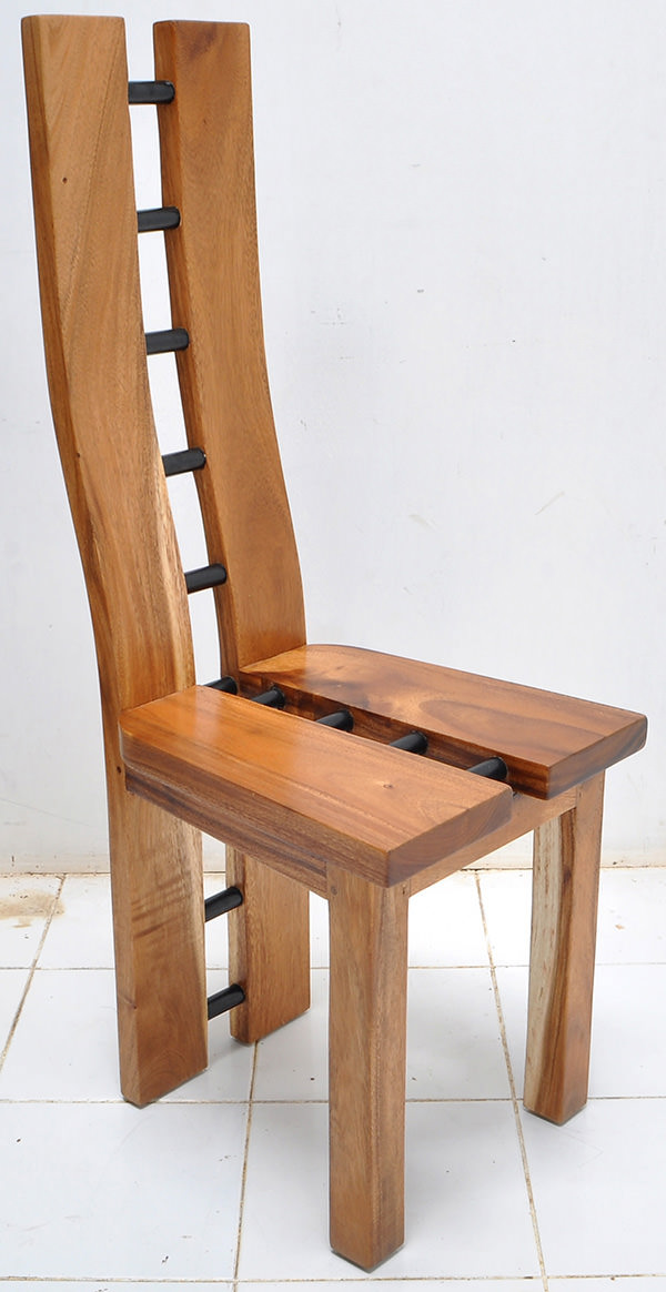 monkeypod dining chair