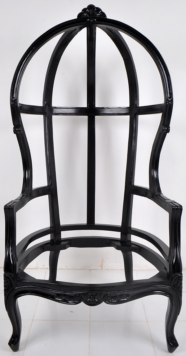 high back chair frame