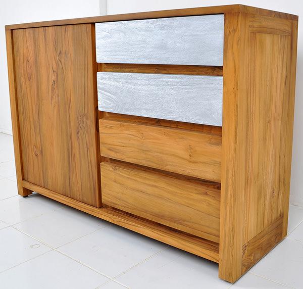 teak Danish dresser