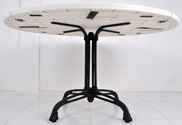 extendable restaurant round table top