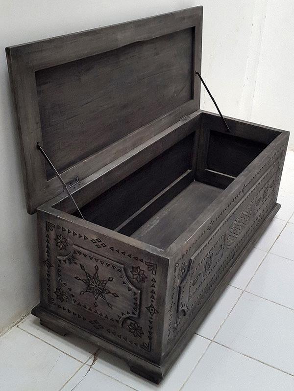 dark vintage trunk