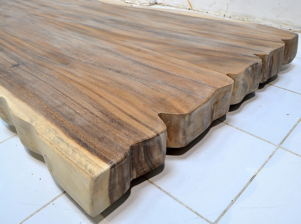 big suar slab table top