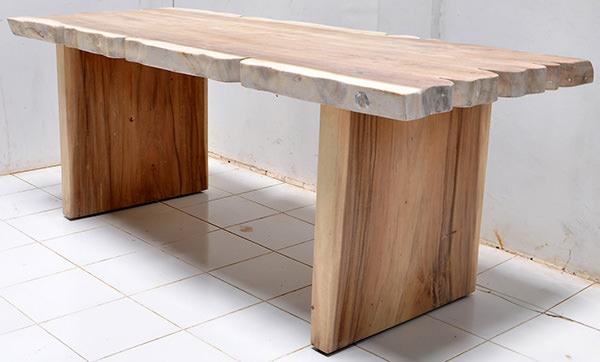 monkey pod desk