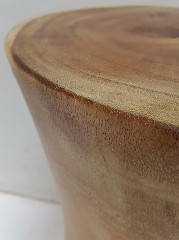solid suar wooden stool