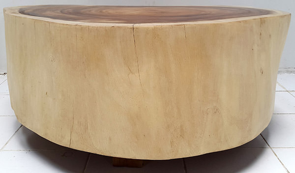 solid suar coffee table